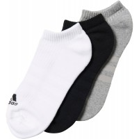 adidas 3S PER NO-SHOW HALF CUSHIONED 3PP - Ponožky