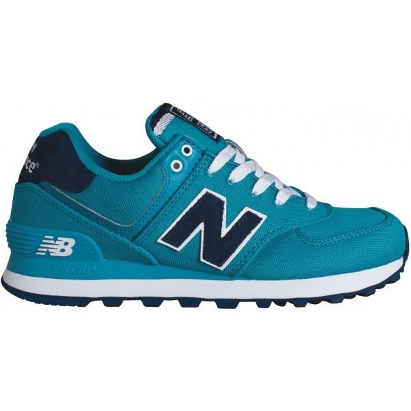 9d579571fe9 New Balance WL574POA - Dámské boty pro volný čas