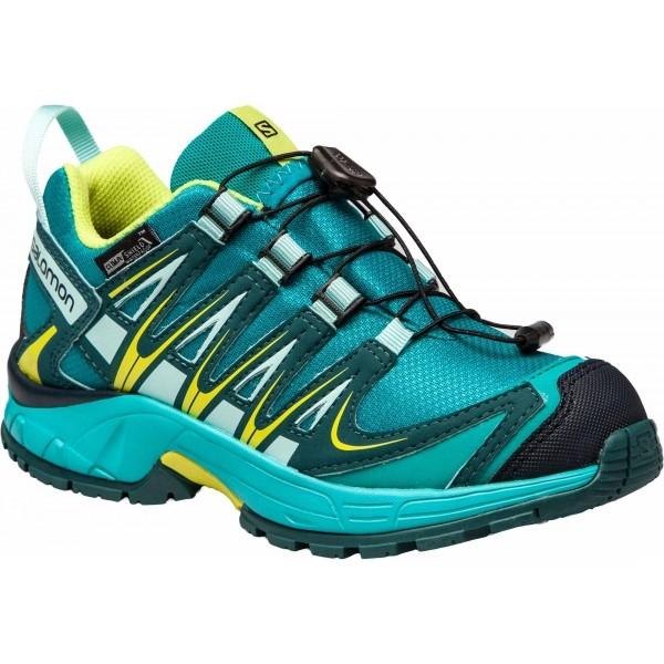 Salomon XA PRO 3D CSWP J - Dětská běžecká obuv b634b13205
