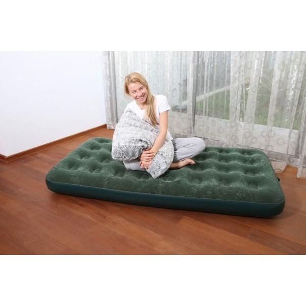 Bestway FLOCKED AIR BED GN - Nafukovací postel - jednolůžko