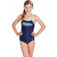 Speedo SPACE ROCK THINSTRAP MUSCLEBACK - Dívčí plavky