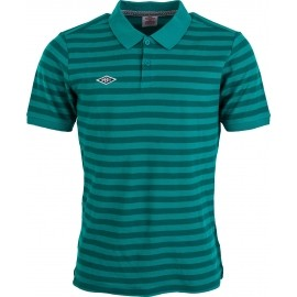 Umbro YARN DYE STRIPE PIQUE POLO