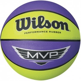 Wilson MVP MINI RUBBER BASKETBALL - Basketbalový míč