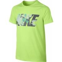Nike B NK DRY TOP SS LEGACY GFX - Chlapecké sportovní tričko