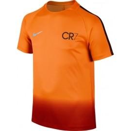 Nike CR7 Y NK DRY SQD TOP SS - Chlapecké fotbalové tričko