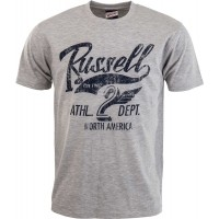 Russell Athletic CREW NECK TEE WITH RUSSELL