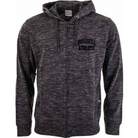 Russell Athletic ZIP TROUGH HOODY WITH ARCH LOGO