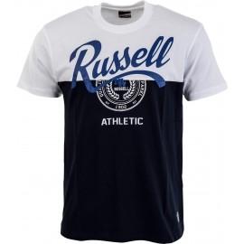 Russell Athletic S/S PANELLEDCREW NECK TEE