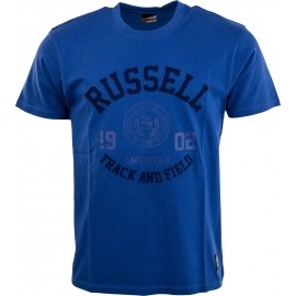 Russell Athletic S/S CREW NECK TEE WITH ROSETTE TWILL