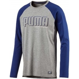 Puma STYLE ATHLETIC LS TEE - Pánské triko