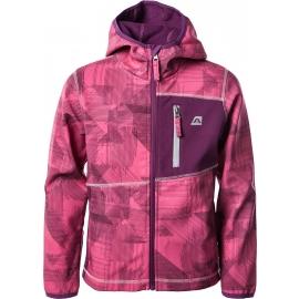 Alpine Pro INDIGO - Dětská softshellová bunda