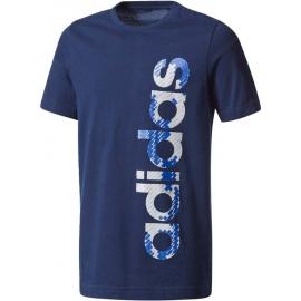 adidas YOUTH BOY LINEAR TEE - Chlapecké tričko
