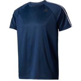adidas DESIGN TO MOVE TEE3 STRIPES - Pánské tréninkové tričko