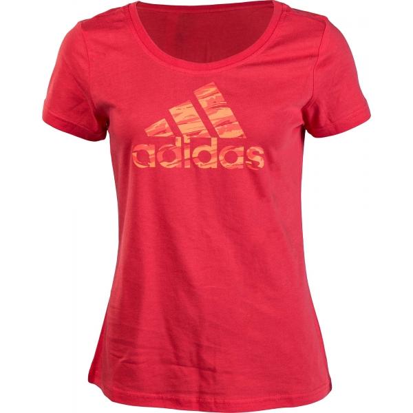 adidas WOMEN CO GRAPHIC TEE - Dámské triko