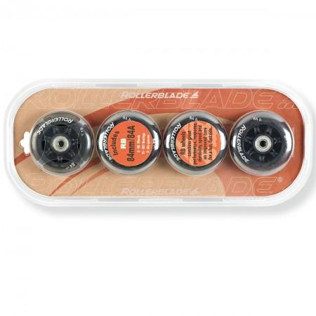 WHEELS PACK 84-84A+SG7 - Sada náhradních inline koleček - Rollerblade WHEELS PACK 84-84A+SG7