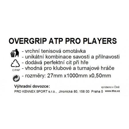 WRAP ATP PLAYERS - Tenisová omotávka - TECNIFIBRE WRAP ATP PLAYERS - 2