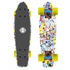 Long Island PALETTE22 - Plastový mini longboard