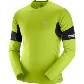 Salomon AGILE LS TEE M - Pánské tričko s dlouhým rukávem