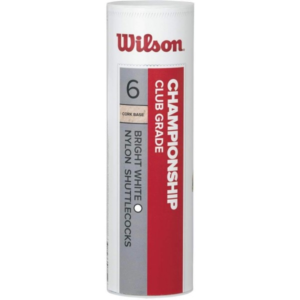 Wilson CHAMPIONSHIP 6ks 77 - Badmintonový míč