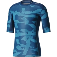 adidas TF TEE SS CI GX - Sportovní pánské funkční tričko