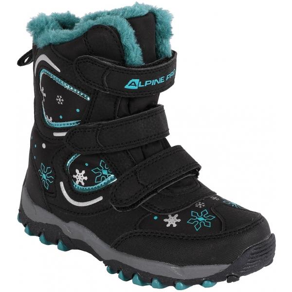 ALPINE PRO KABUNI - Dětská zimní obuv