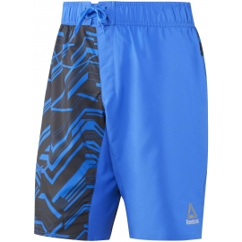 Reebok WORKOUT READY GRAPHIC BOARD SHORT - Pánské kraťasy
