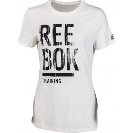 Reebok TRAINING SPLIT TEE - Dámským tričko