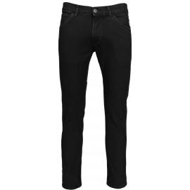 Wrangler BRYSON BLACK - Pánské kalhoty