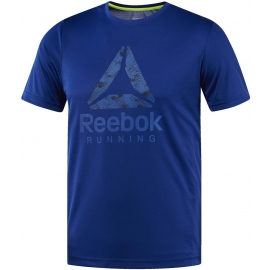 Reebok RUN GRAPHIC TEE - Pánské běžecké triko