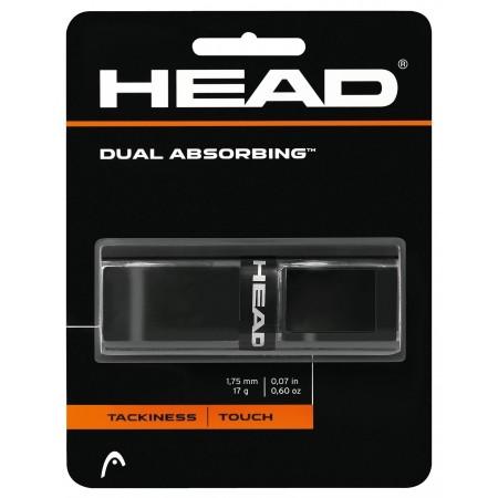 Dual Absorbing black - Základní gripy - Head Dual Absorbing black