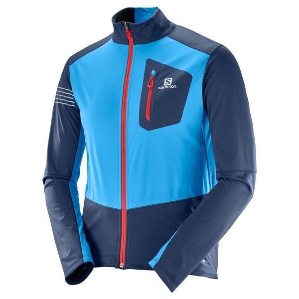Salomon RS SOFTSHELL JKT M - Pánská bunda na běžky