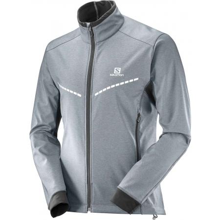 Pánská bunda na běžky - Salomon EQUIPE TR JKT M