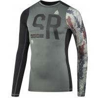 Reebok SRM LS COMP - Pánské kompresní tričko