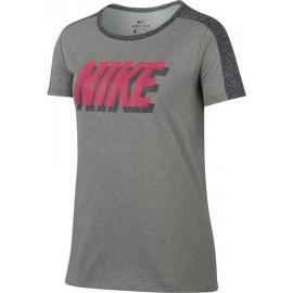 Nike DRY TRAINING T-SHIRT - Dívčí tričko