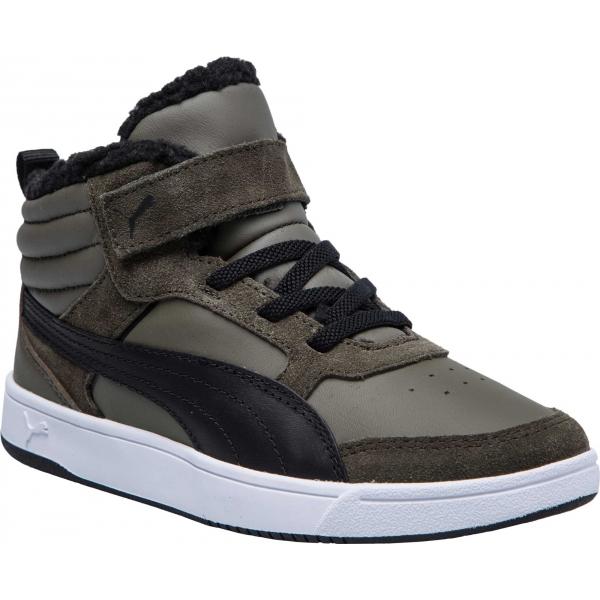 Puma REBOUND STREET V2 FUR PS - Dětská volnočasová obuv 82c4d70a88