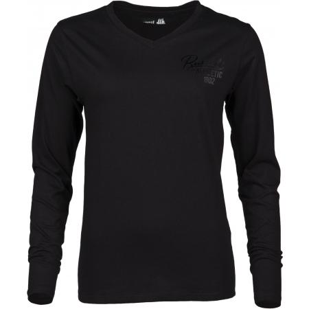Dámské tričko - Russell Athletic L/S V NECK TEE - 1