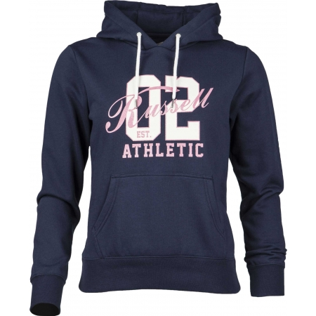 Dámská mikina - Russell Athletic HOODED SWEAT WITH GRAPHIC - 1