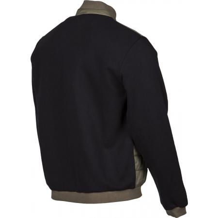 Pánská bunda - Russell Athletic CONTRAST SLV BOMBER - 7