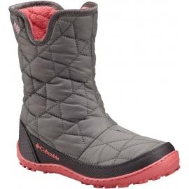 Columbia YOUTH MINX SLIP OMNI-HEAT WATERPROOF - Dětská zimní obuv