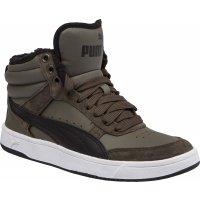 Puma REBOUND STREET V2 FUR JR - Dětská volnočasová obuv