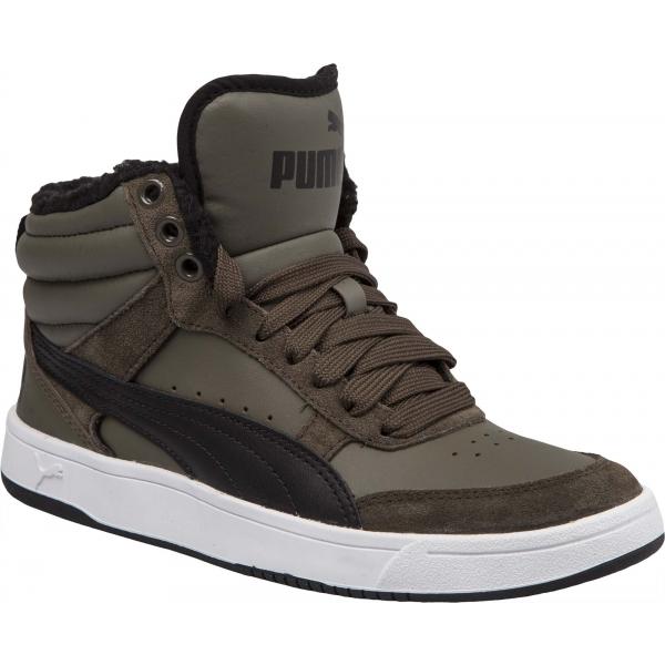 Puma REBOUND STREET V2 FUR JR - Dětská volnočasová obuv 5f8bab96e5