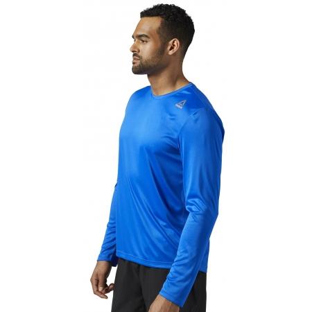 Pánské běžecké triko - Reebok RUN LS TEE - 3