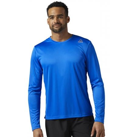 Pánské běžecké triko - Reebok RUN LS TEE - 2