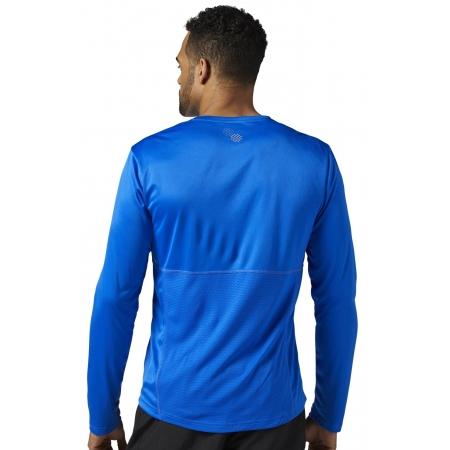Pánské běžecké triko - Reebok RUN LS TEE - 4