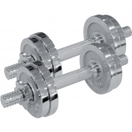 Fitforce ADBC 2x7,5 kg - Jednoruční nakládací činka
