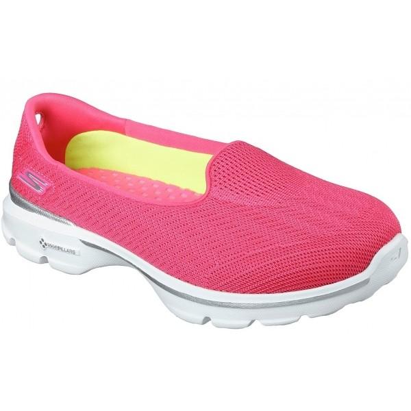 Skechers GO WALK 3 - Dámská volnočasová obuv