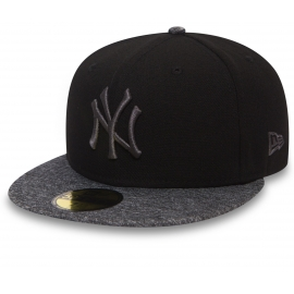New Era 59FIFTY GREY NEW YORK YANKEES - Klubová kšiltovka