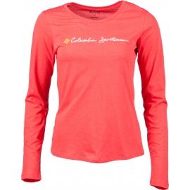 Columbia CSC SCRIPT LOGO LS TEE - Dámské tričko s dlouhým rukávem