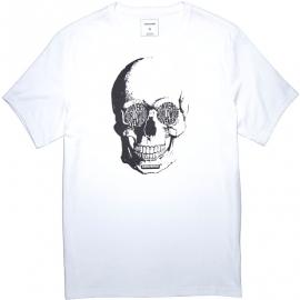 Converse VAN DE WALL SKULL TEE - Pánské tričko