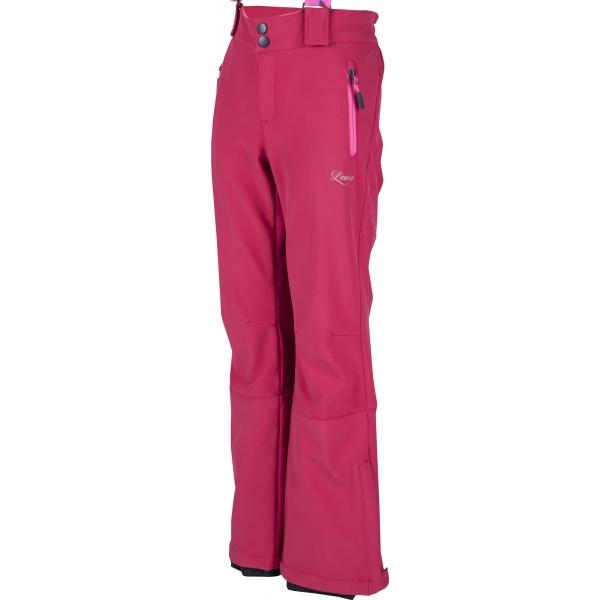 Lewro LONDON 116-134 - Dívčí lyžařské softshellové kalhoty